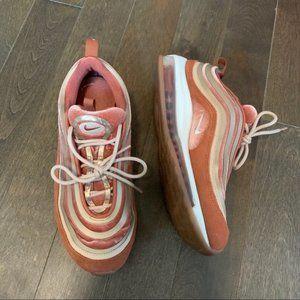 "Nike's Air Max 97 LX Velvet in ""Dusty Peach"" 9"
